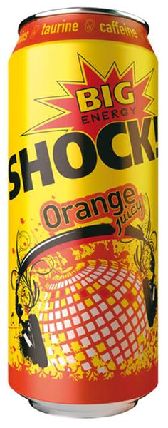 Big Shok orange 500ml plech