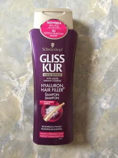 Gliss Kur HYALURON+HAIR FILLER with Hyaluronan complex 250 ml